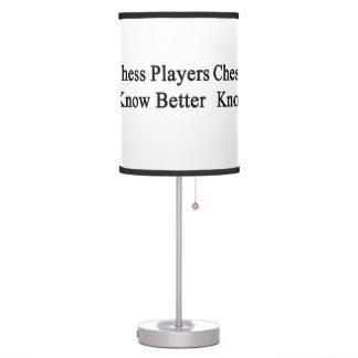 Los jugadores de ajedrez saben mejor