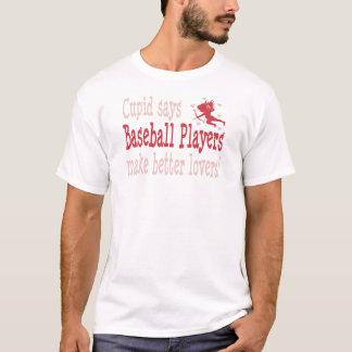 Los jugadores de béisbol hacen a mejores amantes playera