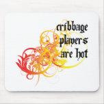 Los jugadores de Cribbage son calientes Alfombrilla De Ratones