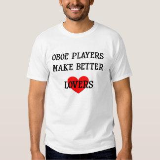 Los jugadores de Oboe hacen a mejores amantes Polera