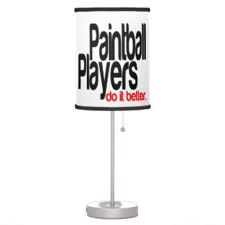 Los jugadores de Paintball mejora Lámpara De Escritorio