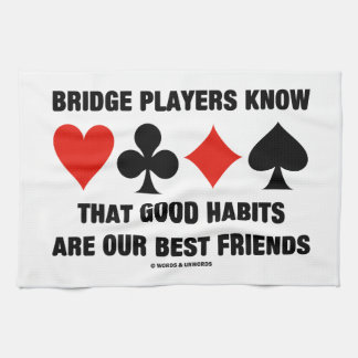 Los jugadores de puente conocen a buenos mejores toalla