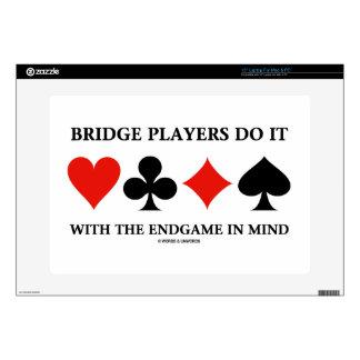 Los jugadores de puente lo hacen con el Endgame en 38,1cm Portátil Calcomanías