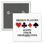Los jugadores de puente saben sus probabilidades pins