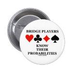 Los jugadores de puente saben sus probabilidades pin
