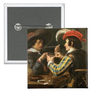 Los jugadores de tarjeta pin cuadrada 5 cm