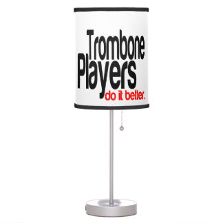 Los jugadores de Trombone mejora Lámpara De Escritorio