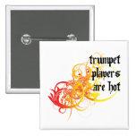 Los jugadores de trompeta son calientes pin