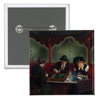 Los jugadores del backgammon pins