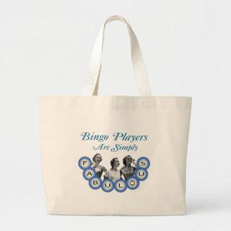 Los jugadores del bingo son simplemente fabulosos bolsas de mano