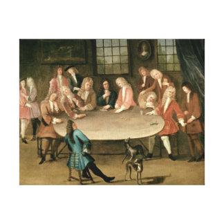 Los jugadores lienzo envuelto para galerías