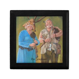 Los juglares caja de recuerdo