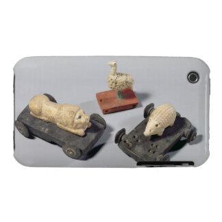 Los juguetes de los niños un erizo un león y una Case-Mate iPhone 3 carcasa
