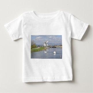 los Kelpies, parque de la hélice, Falkirk Playera De Bebé