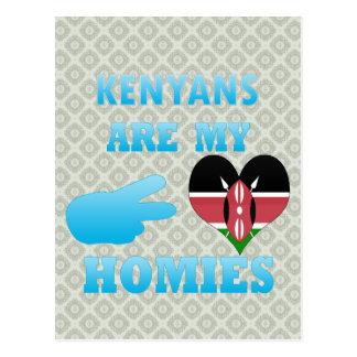 Los Kenyans son mi Homies Postales