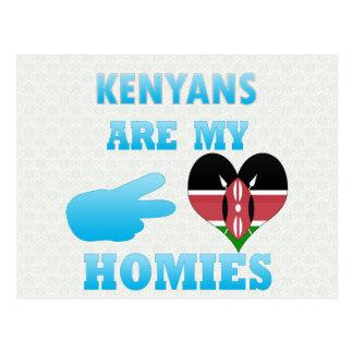 Los Kenyans son mi Homies Tarjetas Postales