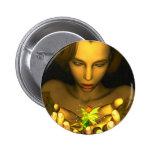 Los KRW Behold el botón del arte de la fantasía Pins