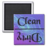 Los KRW limpian e imán sucio de la cocina