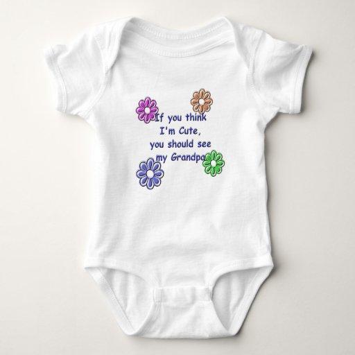 Los KRW si usted piensa que soy lindo consideran a Body Para Bebé