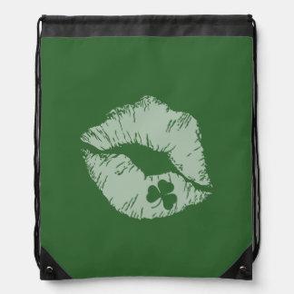 Los labios del trébol - béseme que soy bolso de mochilas