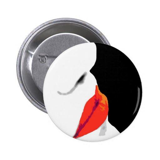 Los labios rojos de la mujer (3) pin