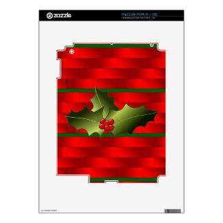 ¡Los ladrillos de Santa y etiquetas del muérdago Skins Para iPad 2