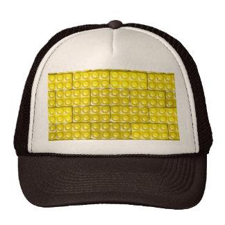 Los ladrillos del constructor - amarillo gorras de camionero