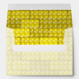 Los ladrillos del constructor - amarillo sobre