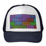 Los ladrillos del constructor - arco iris gorra