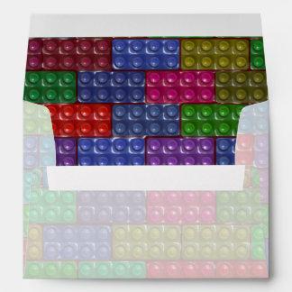 Los ladrillos del constructor - arco iris