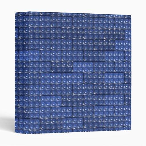 Los ladrillos del constructor - azul