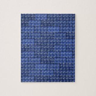 Los ladrillos del constructor - azul puzzles con fotos