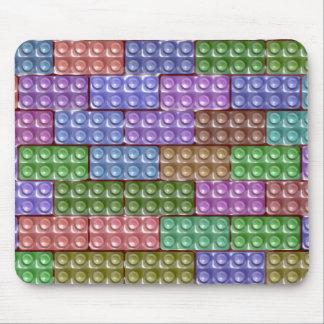 Los ladrillos del constructor - pastel mousepad