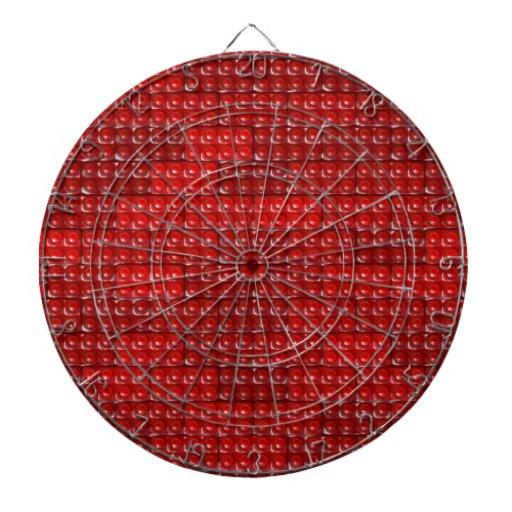 Los ladrillos del constructor - rojo tabla dardos