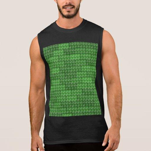 Los ladrillos del constructor - verde camiseta