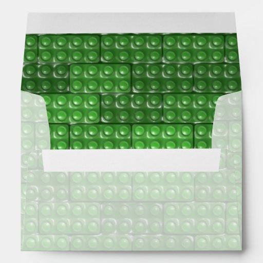 Los ladrillos del constructor - verde sobres