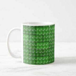 Los ladrillos del constructor - verde taza de café