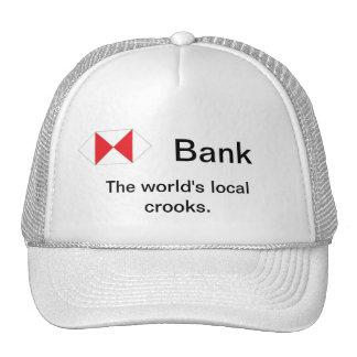 Los ladrones locales del mundo gorras de camionero