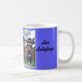 Los Ladybugs Classic White Coffee Mug