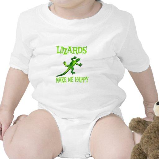 Los lagartos me hacen feliz traje de bebé