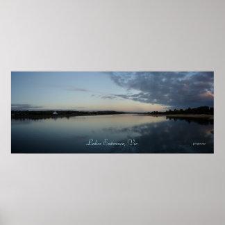 Los lagos encantan Victoria Posters