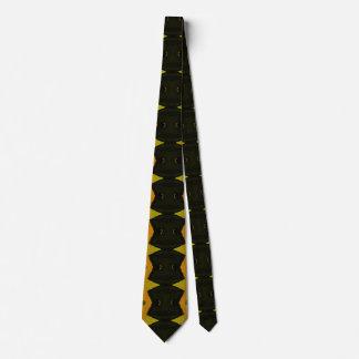 Los lazos modernos retros de los hombres negros corbatas personalizadas