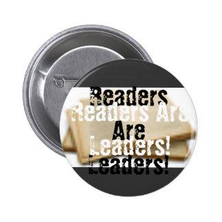 Los lectores son líderes pin redondo de 2 pulgadas