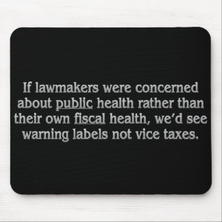 Los legisladores no se refieren a salud pública mousepads