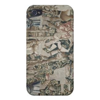 Los leñadores, taller de Tournai iPhone 4 Carcasa