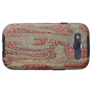 Los leopardos de Inglaterra, siglo XV (tapicería) Samsung Galaxy S3 Protectores
