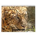 Los leopardos hacen calendarios, los leopardos