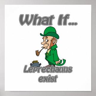 los leprechauns existen póster
