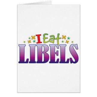 Los liberales I comen Tarjeta De Felicitación