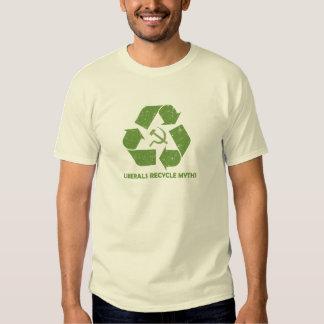 Los liberales reciclan la camiseta de los mitos playeras